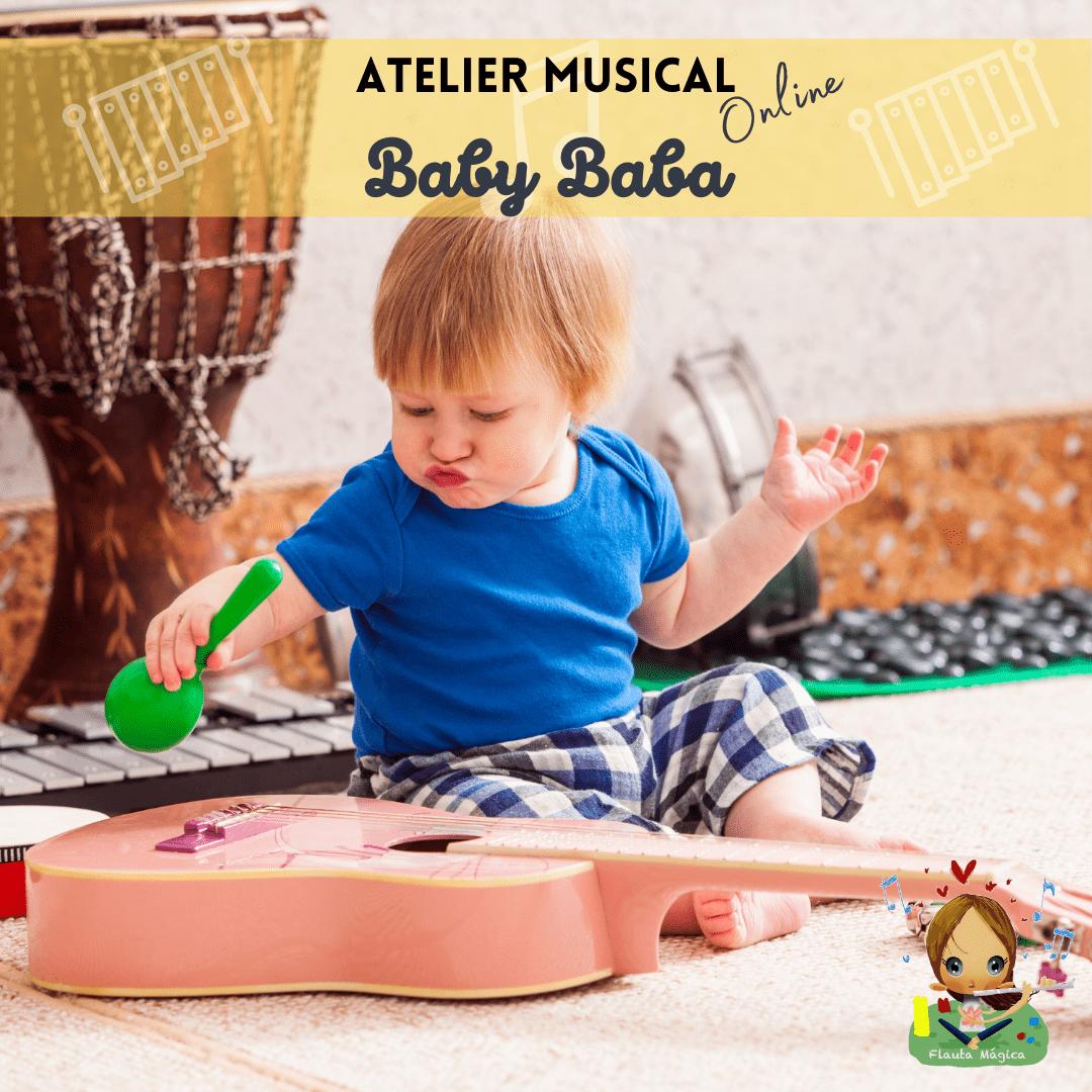 "Atelier Musical ""Baby BaBa"" – 0 aos 18 meses"