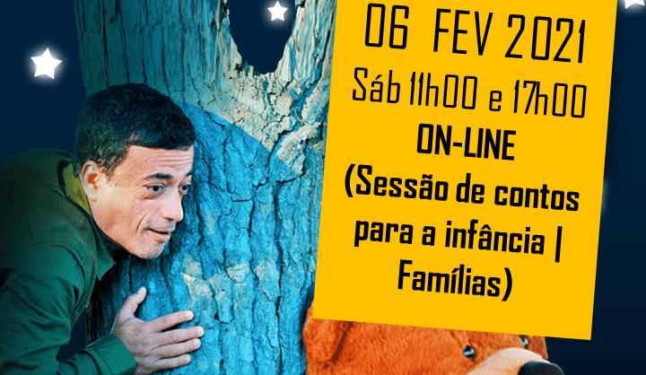 O Contador – Sessão de contos para a infância em Família
