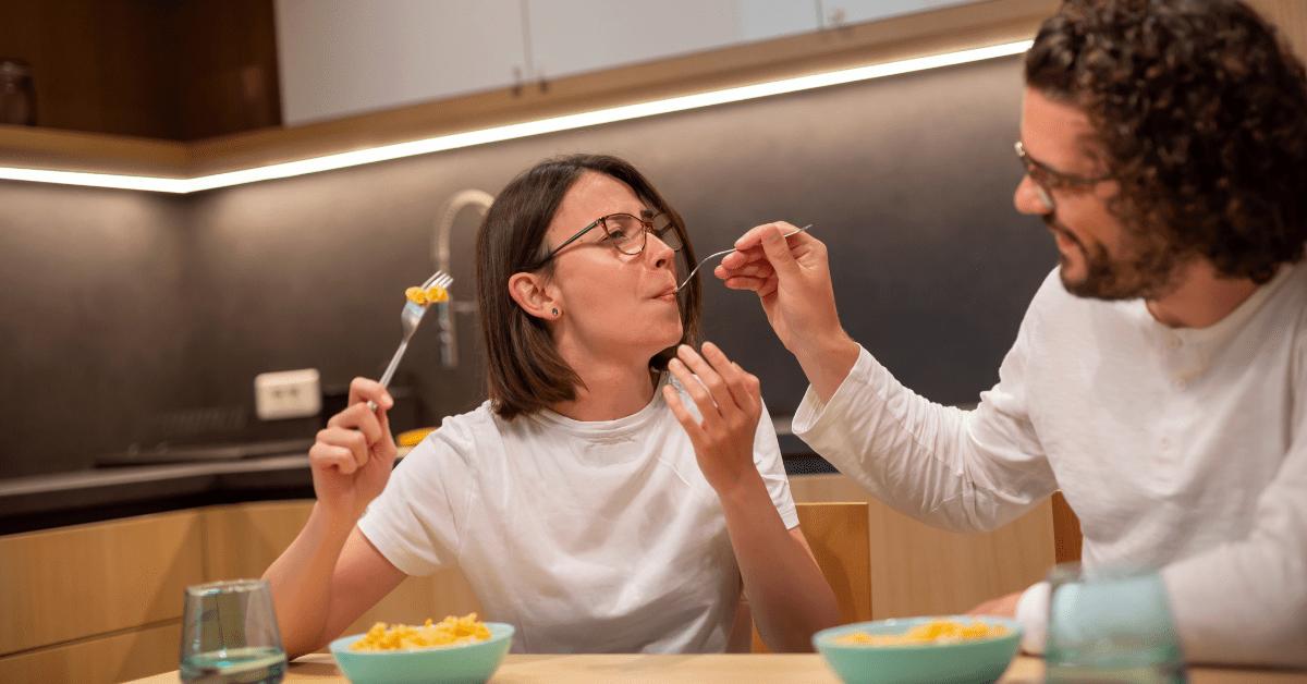 Jantar no dia dos namorados