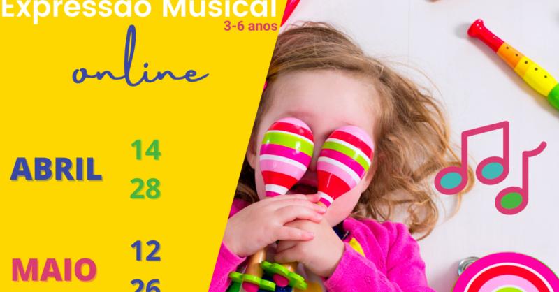 Sessões de Expressão Musical 3-6 anos  | Odisseias