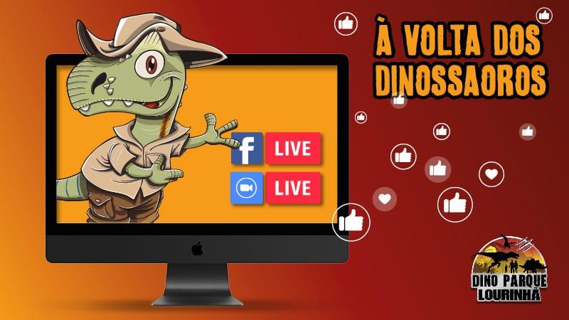 à volta dinossauros