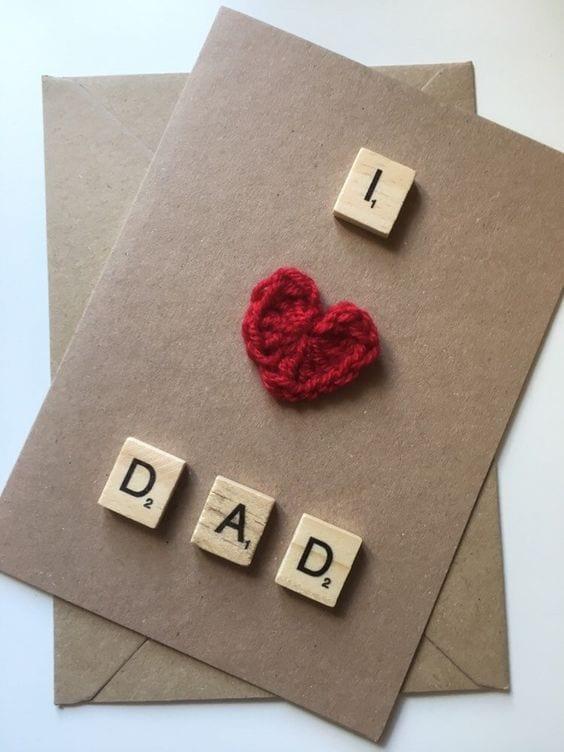 postais dia do pai letras