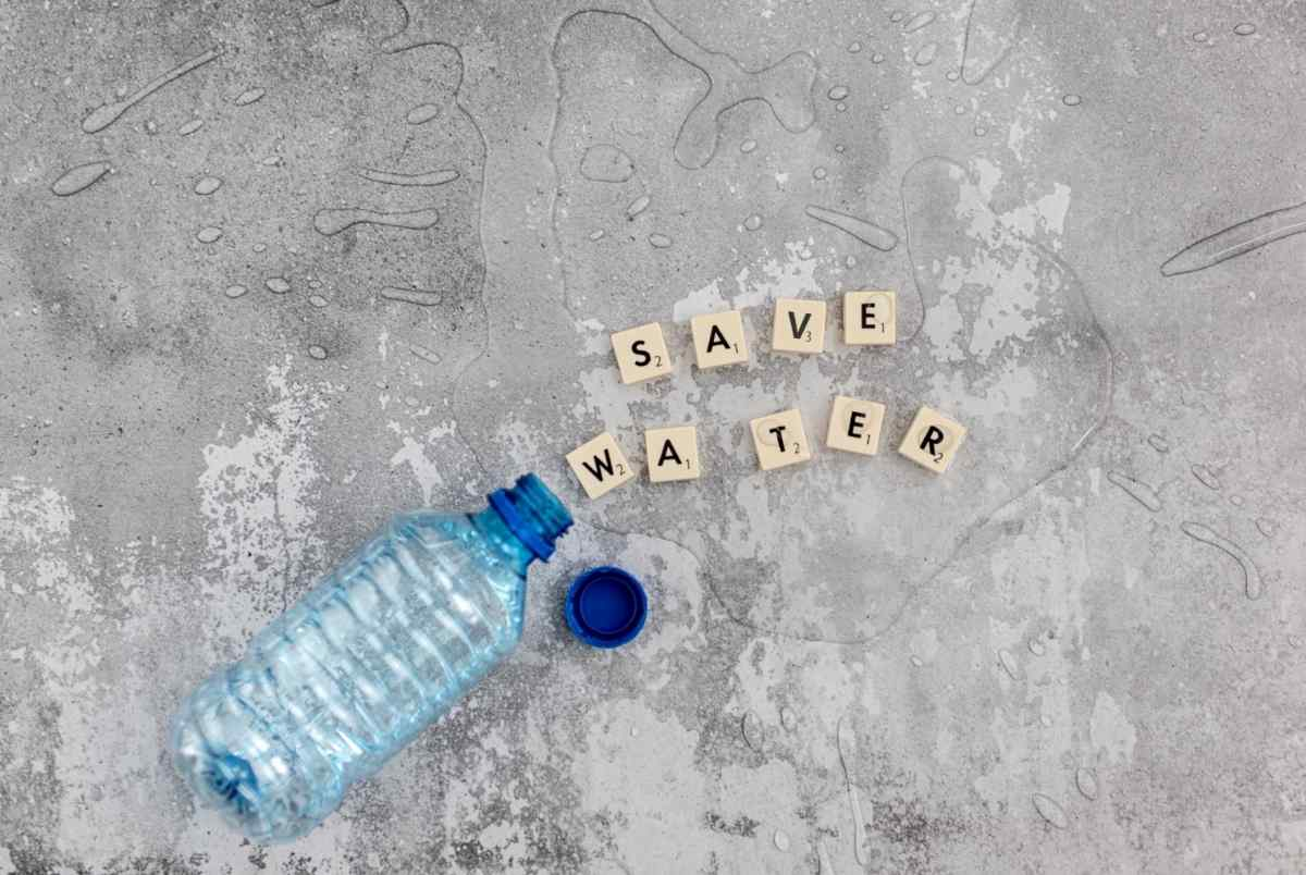 gastar menos água