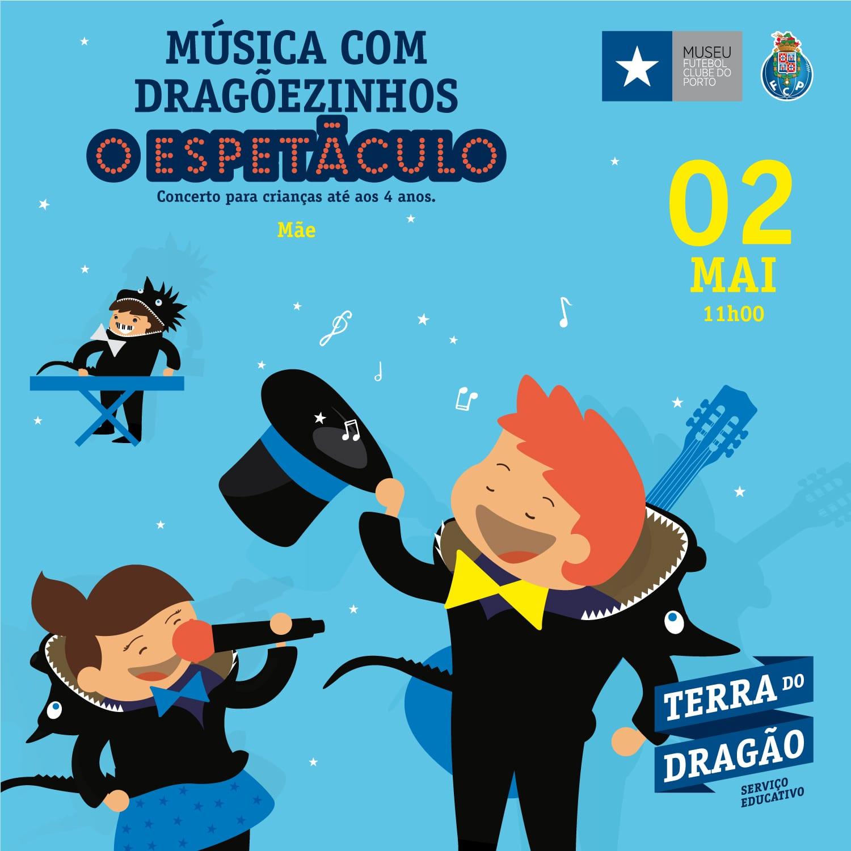 Música com Dragõezinhos, O Espetáculo – Mãe