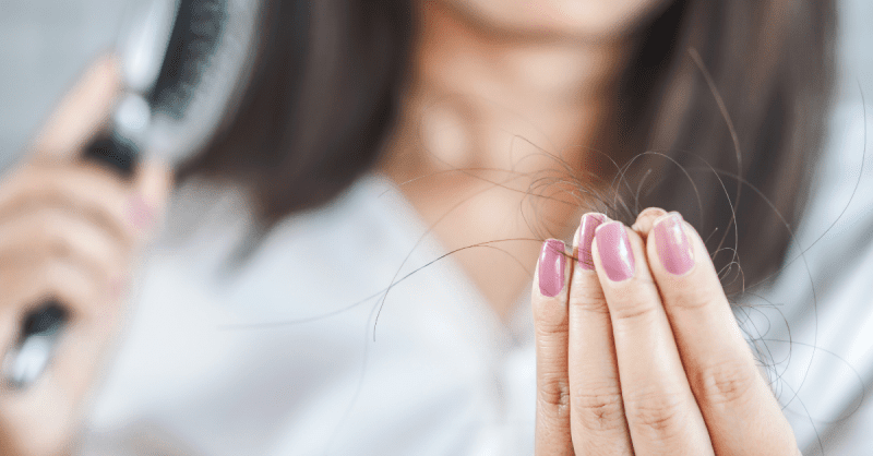 queda de cabelos pós-parto