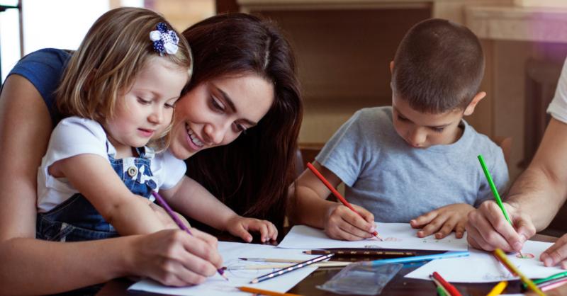 Desenhos para o Dia da Mãe: vamos colorir?