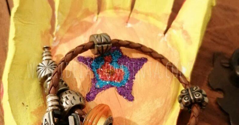 Prenda dia da Mãe: porta-jóias feito, literalmente, à mão!