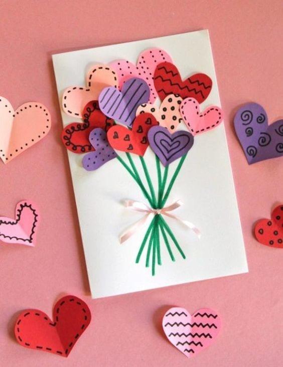 postal dia da mãe flores