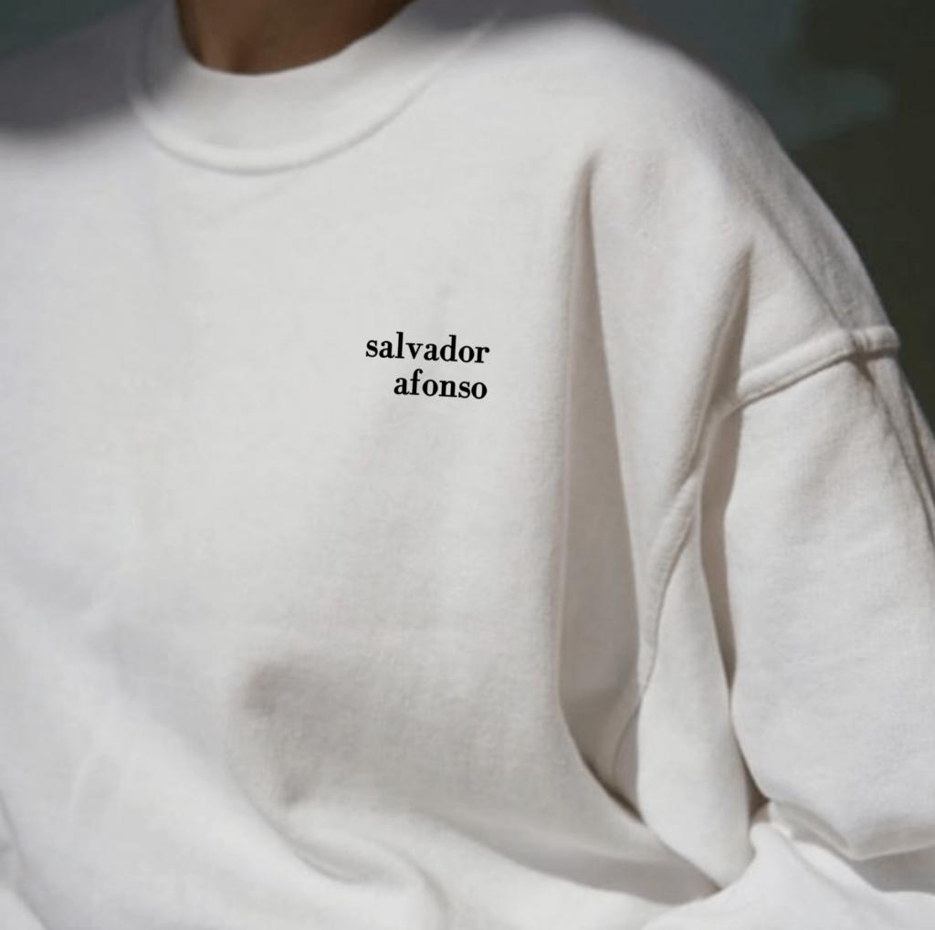 camisola personalizável