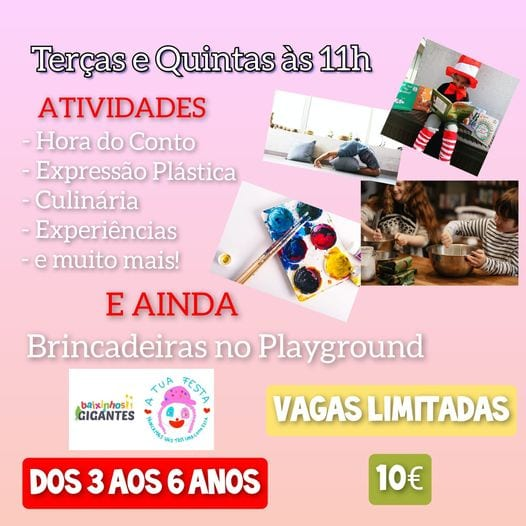 Actividades & Brincadeiras no Playground