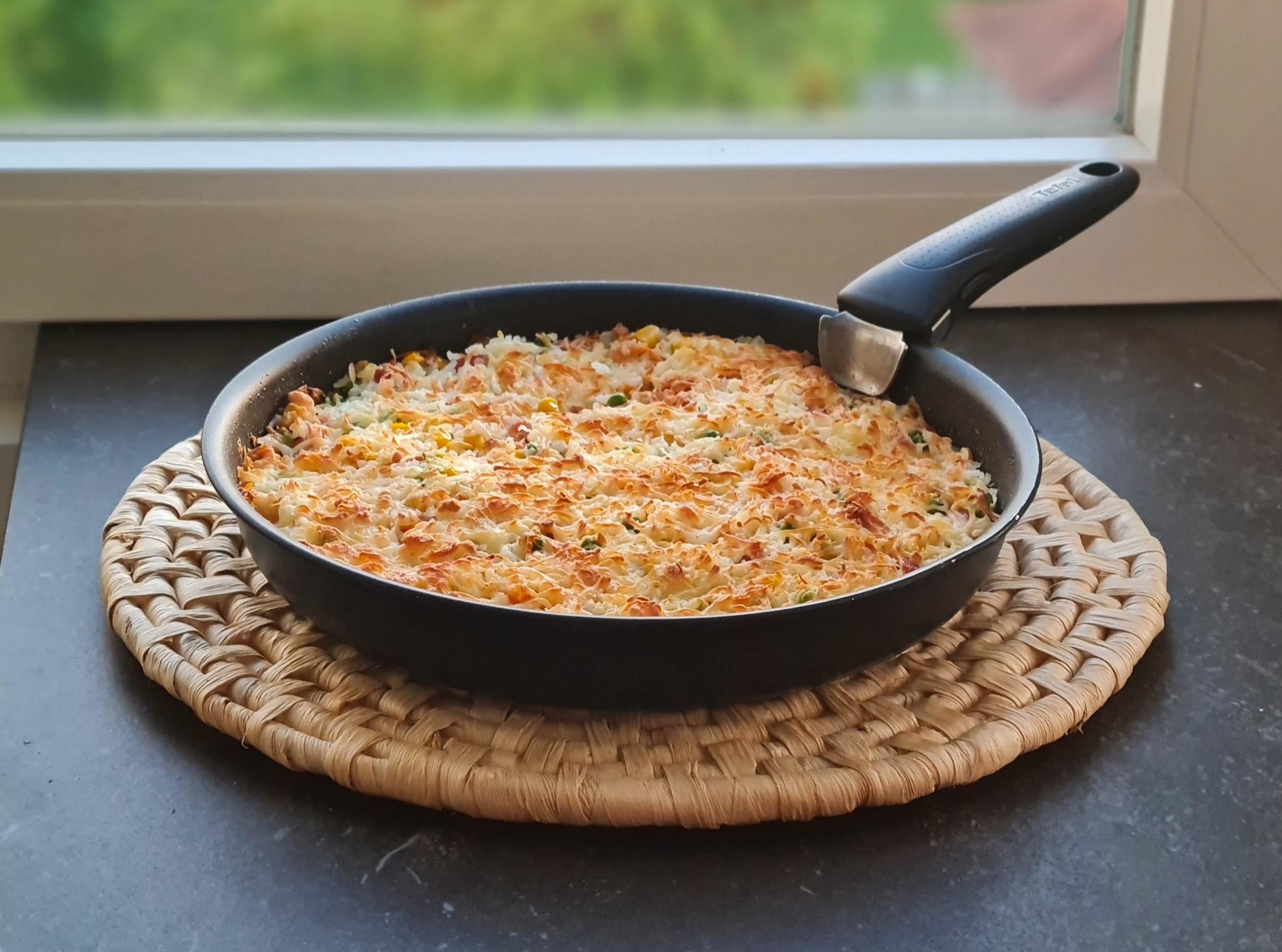 Arroz de forno - receita deliciosa