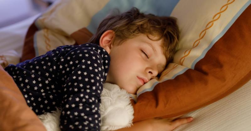 rotina sono crianças