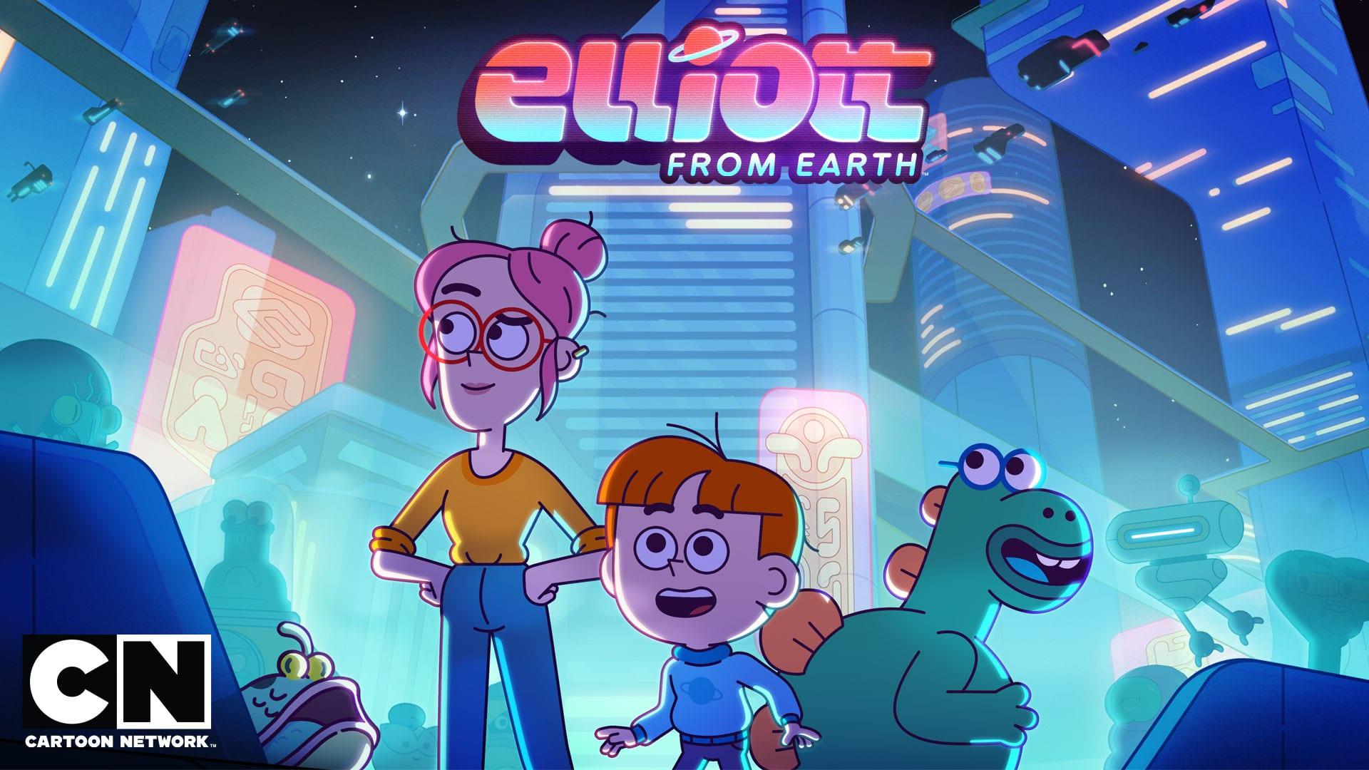 O ELLIOTT DA TERRA - Cartoon Network Passatempo estreia