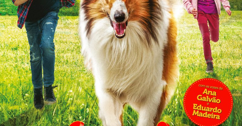 """Filme """"Lassie de volta a casa"""": uma nova aventura."""