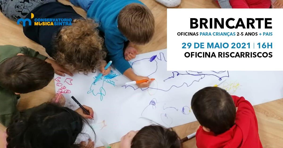 BrincArte – Oficina Riscarriscos