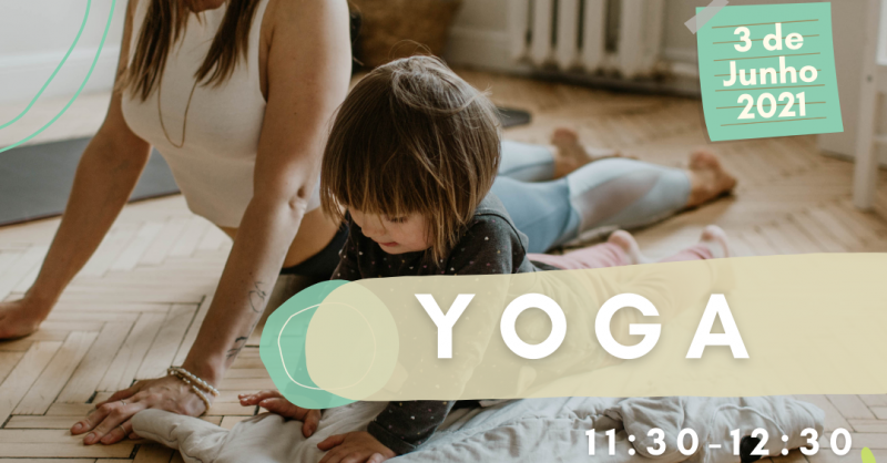 Aula Aberta na Impact House – Yoga para Famílias