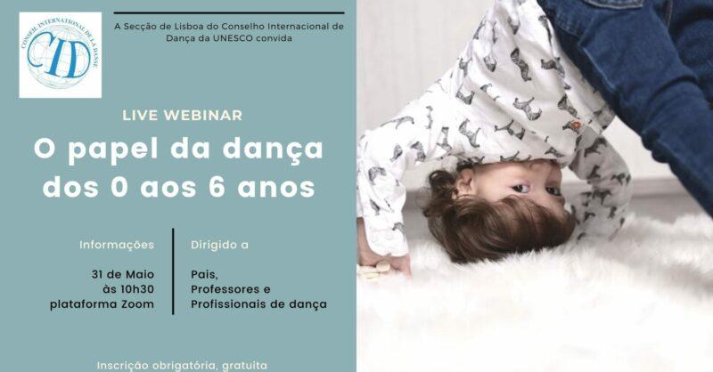 Seminário – O papel da dança dos 0 aos 6 anos