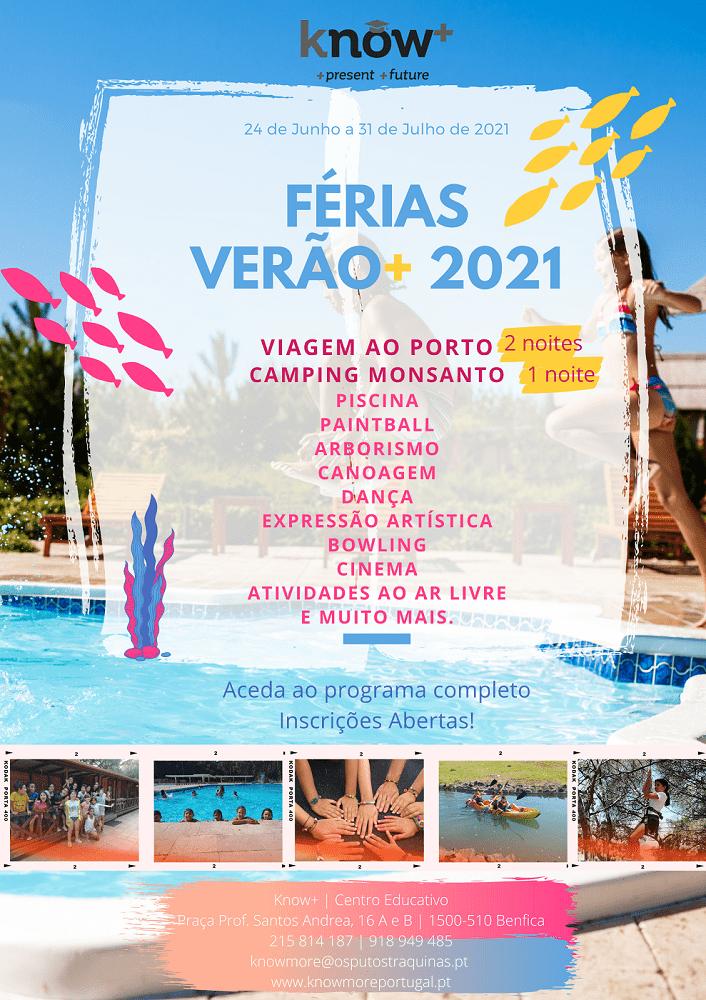 Férias Verão+ 2021