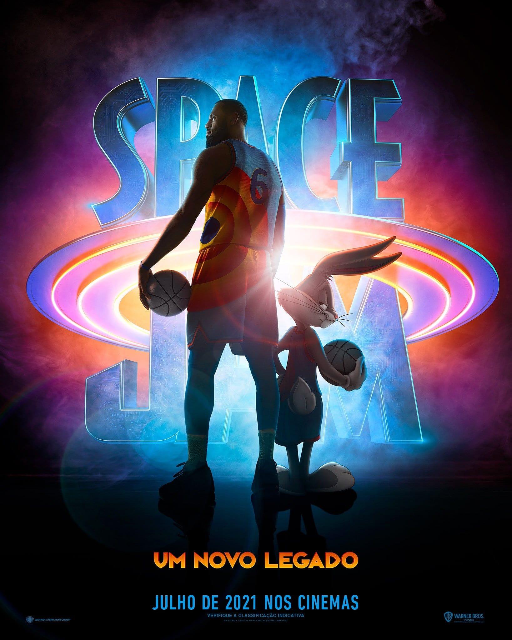 Space Jam 2 Uma Nova Era capa
