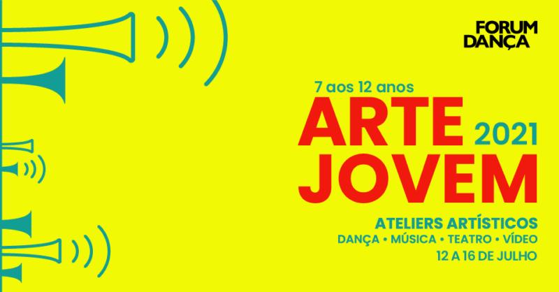 Arte Jovem 2021 –  Férias de Verão Forum Dança