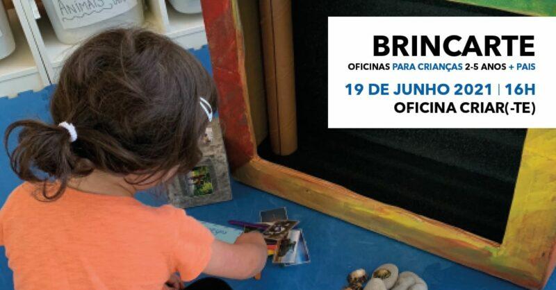 BrincArte – oficina Criar(-te) | pais e filhos dos 2 aos 5 anos