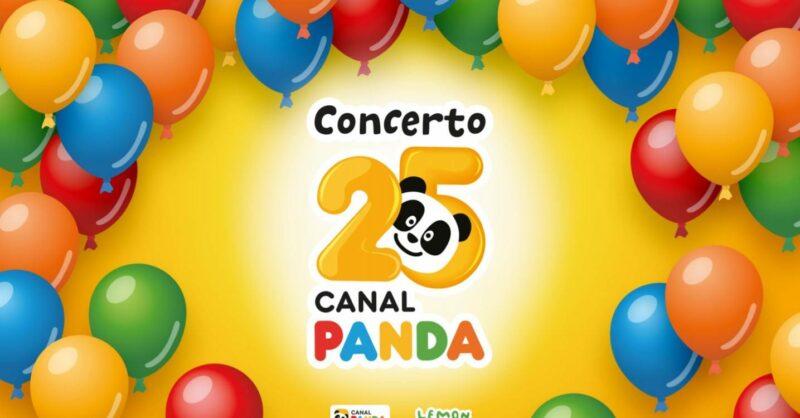 O Canal Panda faz 25 anos e preparou um mega concerto para festejarmos, com segurança!