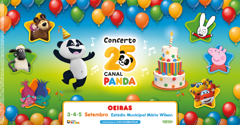 Concerto Canal Panda personagens 1200x628