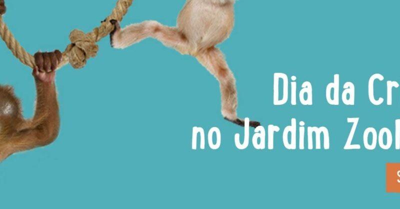 Jardim Zoológico em festa na semana do Dia da Criança