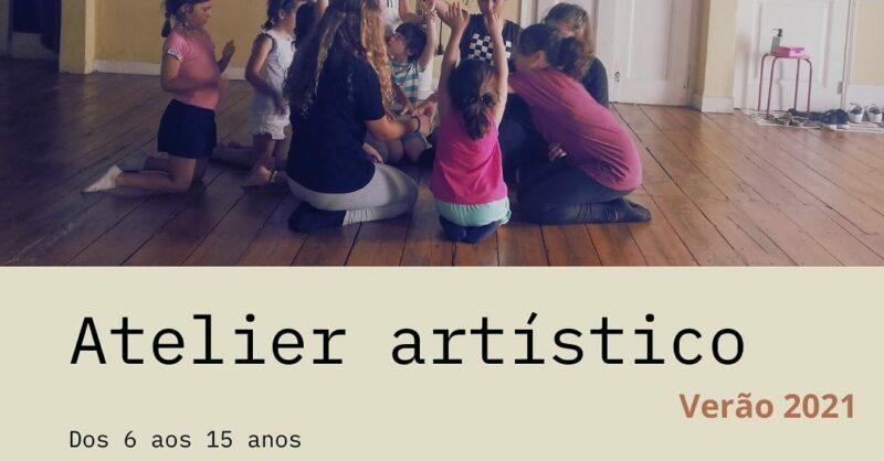 Atelier artístico para este verão!
