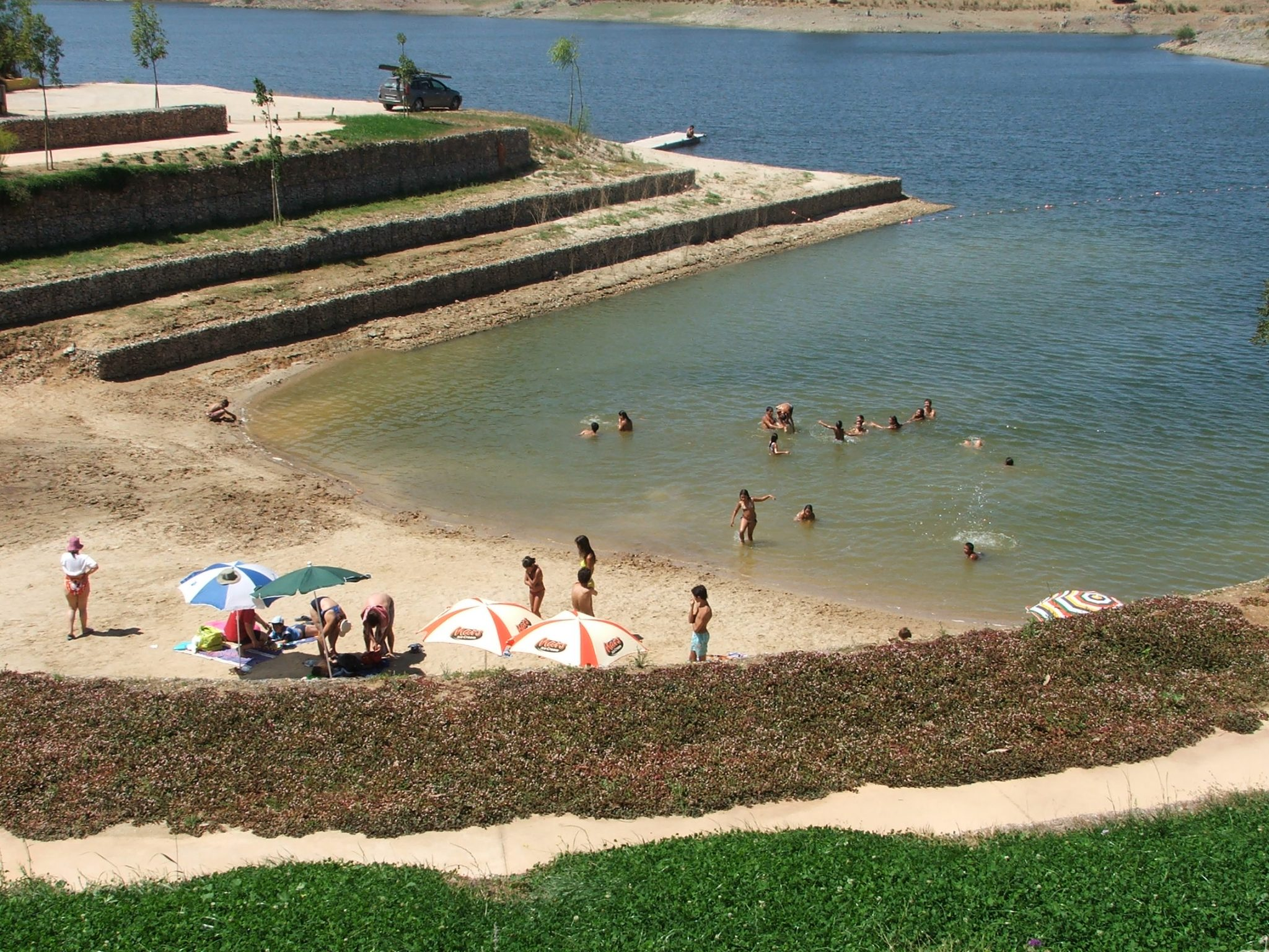 praia fluvial do clube náutico