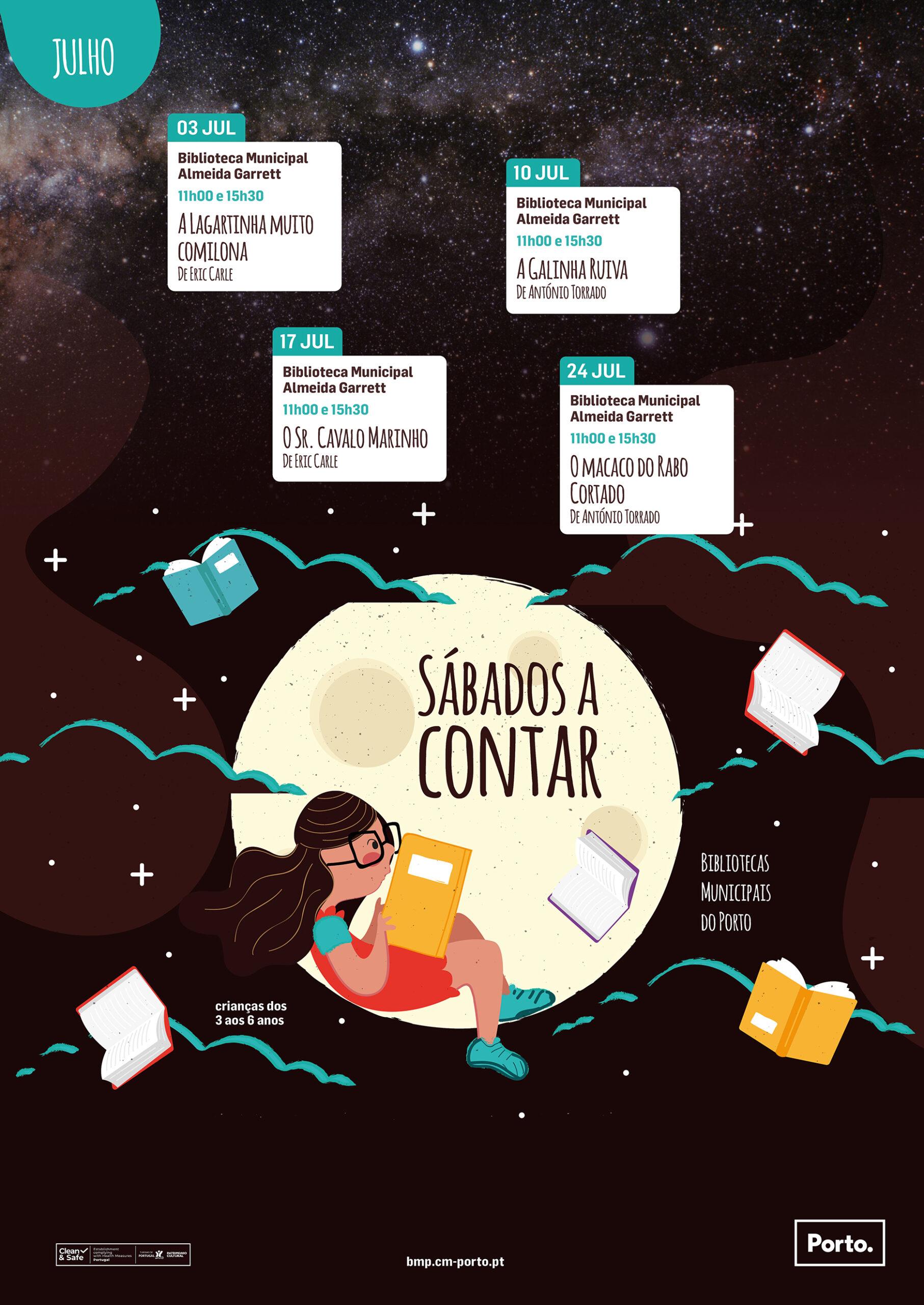 Sábados a Contar Biblioteca Municipal do Porto