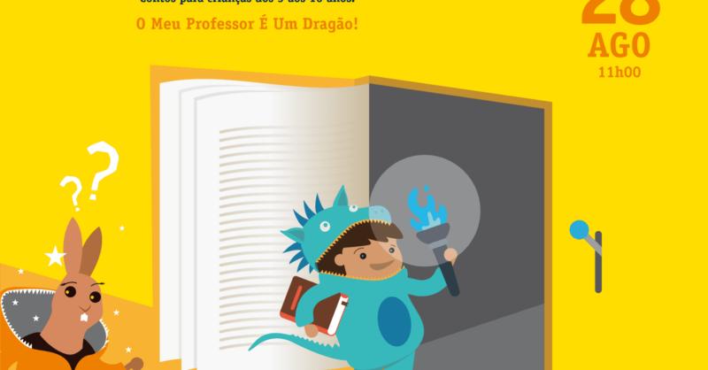 Histórias com Magia para Dragõezinhos – O Meu Professor É Um Dragão!
