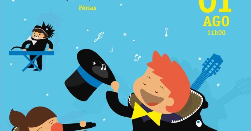 Música com Dragõezinhos, O Espetáculo – Férias