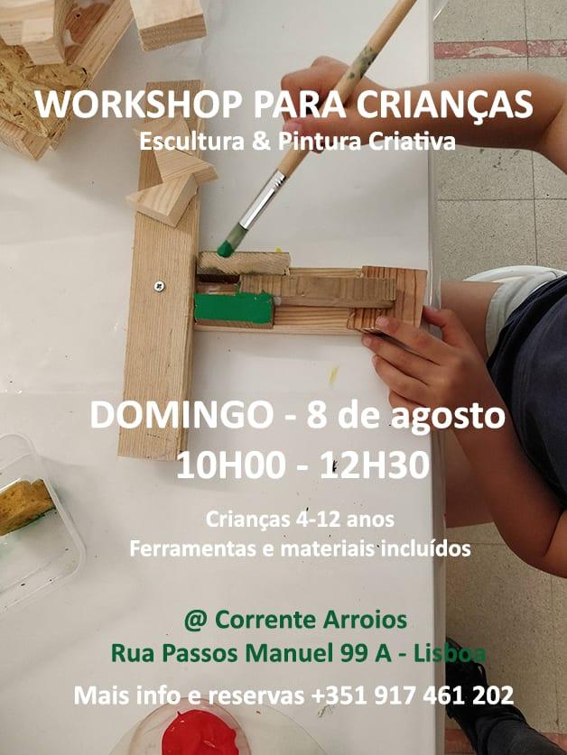 Workshops Artísticos – Creative Wood Workshop