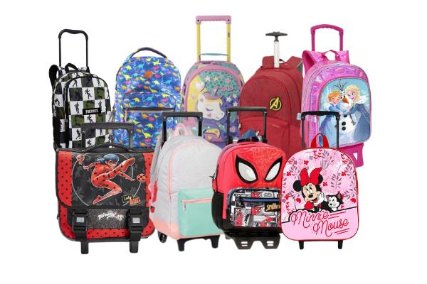 mochilas escolares com rodinhas 2021