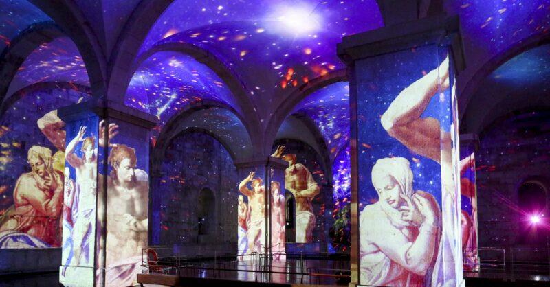 OCUBO   Exposição imersiva de Da Vinci e Michelangelo já abriu em Lisboa!