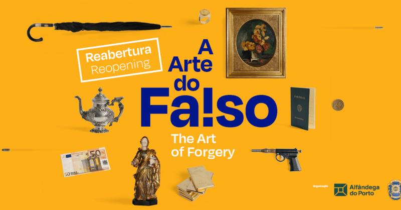 """Exposição """"A Arte do Falso"""""""