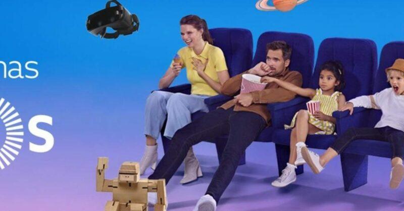 O Parque Nascente promove a diversão em família no cinema!