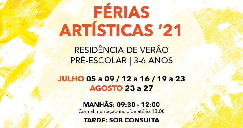 Férias Artísticas no Conservatório de Música de Sintra