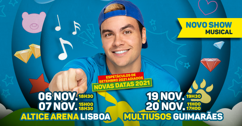 Luccas Neto e a Escola de Aventureiros em Portugal adiado para novembro!