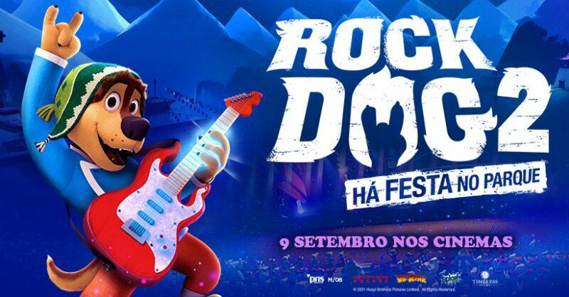"""Passatempo do filme """"Rock Dog 2: Há Festa no Parque"""""""