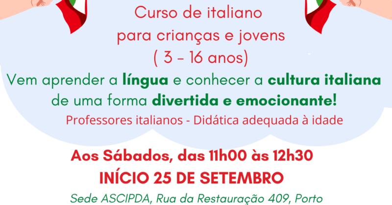 Sabato dei Piccoli Curso de Lingua Italiana