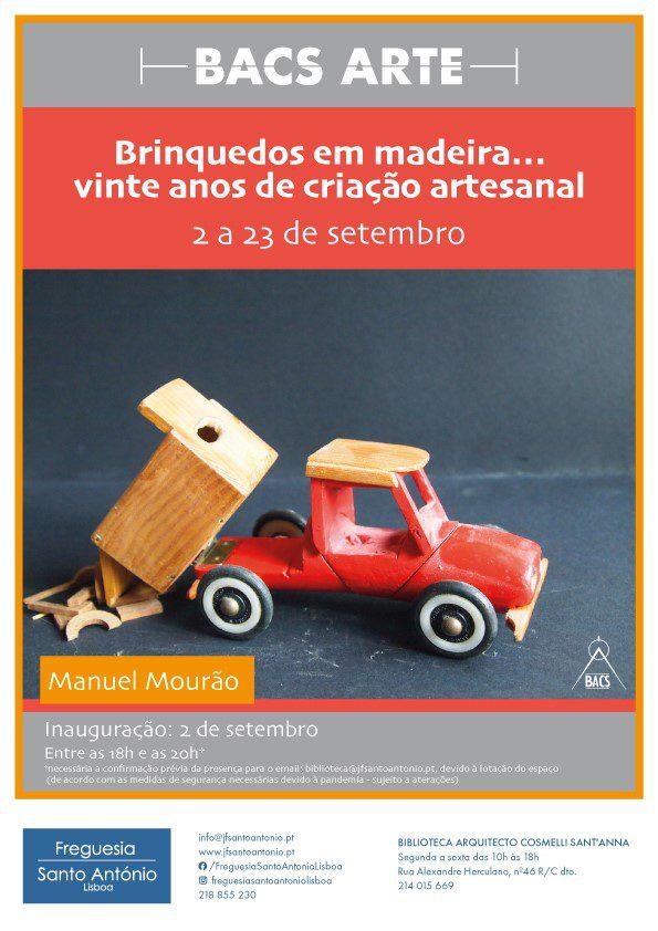 Brinquedos em Madeira… 20 anos de criação artesanal
