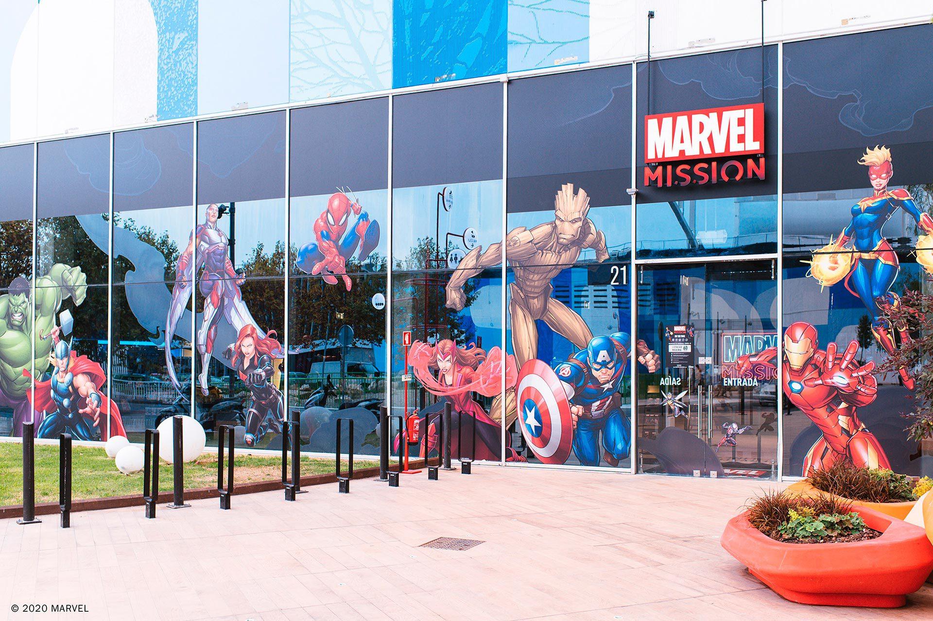 Marvel Mission Lisboa