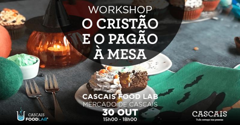 """Workshop """"O Cristão e o Pagão à Mesa"""""""