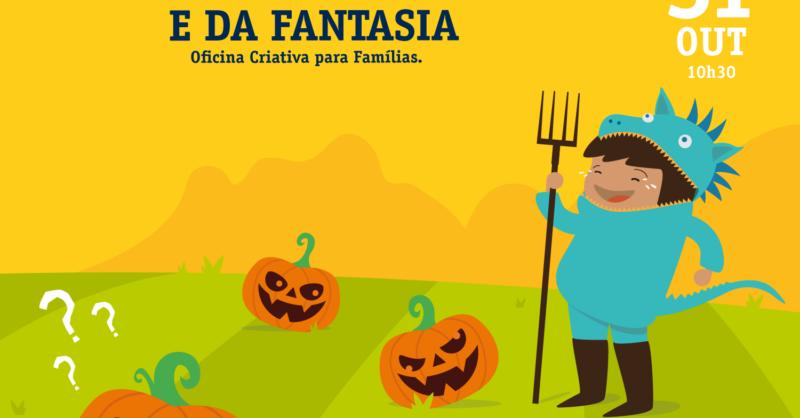 Halloween – A Magia do Faz de Conta e da Fantasia – Oficina Criativa