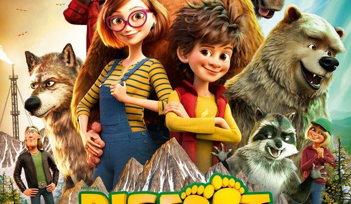 """Passatempo do filme """"Bigfoot em Família"""""""