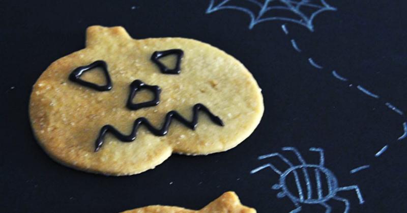 Bolachas de Halloween: uma receita de perder a cabeça!