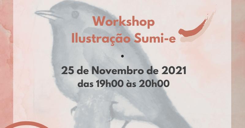 Workshop Ilustração Sumi-e