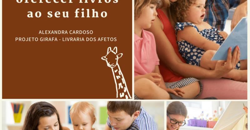 5 razões para oferecer livros aos seus filhos